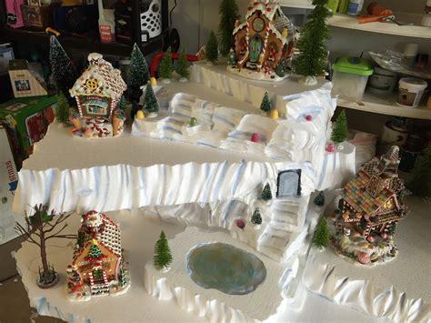 how to cut christmas lights copeland christmas blog making a mini christmas village