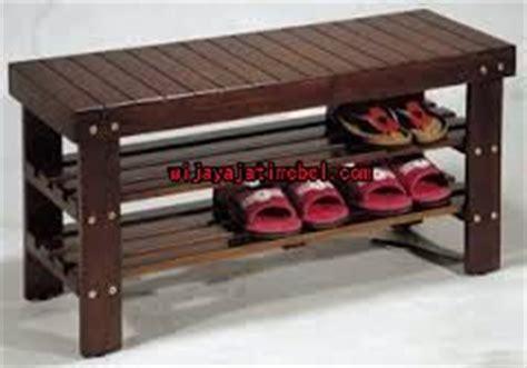 Rak Sepatu Model Sekarang rak sepatu model kursi panjang terbaru jati minimalis wijaya jati mebel