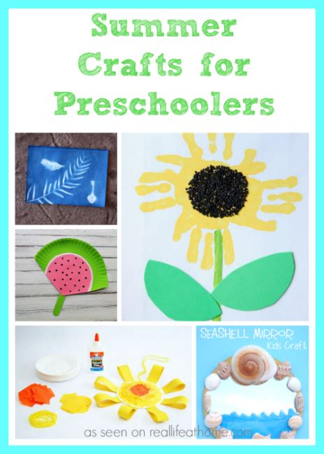themes for kindergarten summer c summer crafts for preschoolers real life at home