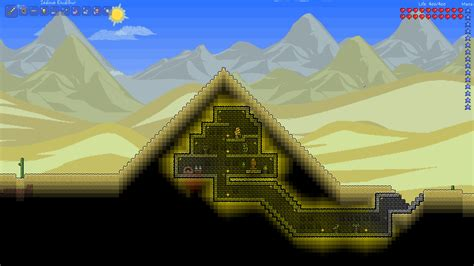 Blueprints For My House i ve always wanted my own pyramid terraria