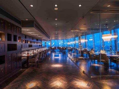 Aqua Shard Dining Room by Aqua Shard The Shard Designcurial