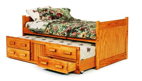 twin captain bed with storage chelsea home 3613501 twin captains bed with trundle and storage honey