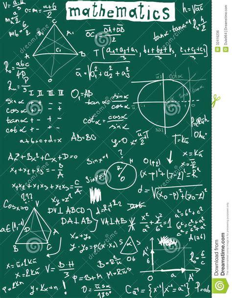 doodle maths sign up doodle maths seamless pattern stock illustration