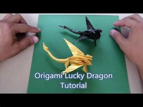 Origami Lucky Tutorial - 5034 best origami images on origami origami