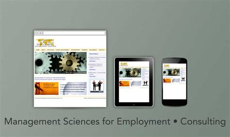 Management Science 2 management sciences for employment consulting 610