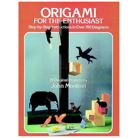 Animal Origami For The Enthusiast - buy dover book origami for the enthusiast