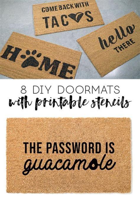 front door mats diy front door mats