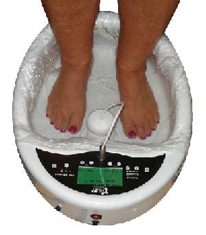 Gaiam Detox Spa Foot Bath by Ionic Foot Bath Single
