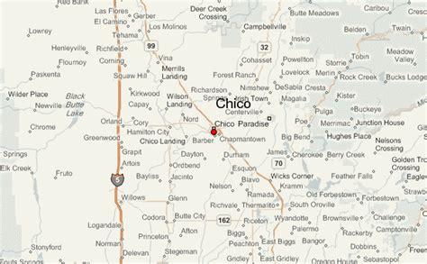 california map chico chico california location guide