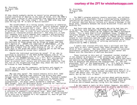 Letter Of Credit Vs Revolver Frank Zappa On Fads Blank On Blank