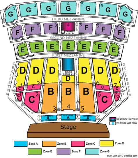 best seats at radio city radio city seating chart