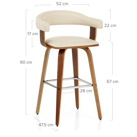 Chaise Bar Bois by Chaise De Bar Faux Cuir Bois Ontario Monde Du Tabouret