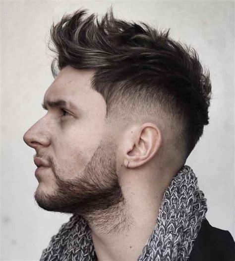 konsep modis gaya rambut pendek pria tintin