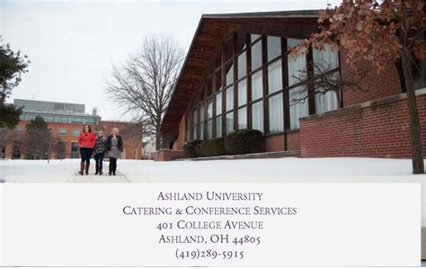 Ashland Mba Center Columbus Oh by Location Contact Administration Ashland