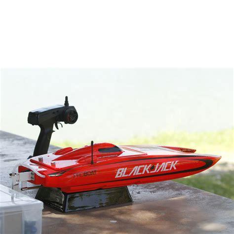 electric rc catamaran boats pro boat blackjack rtr 24 inch catamaran brushless