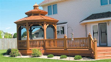 gazebo deck wood decks wooden decks gazebos