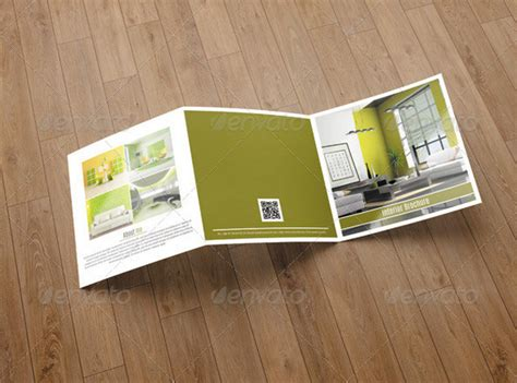 Square Trifold Brochure Template 25 Kitchen Design Brochure Catalogs And Template