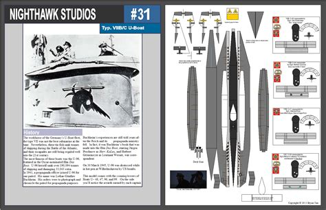 Submarine Papercraft - mini model type vii uboat by rocketmantan on deviantart