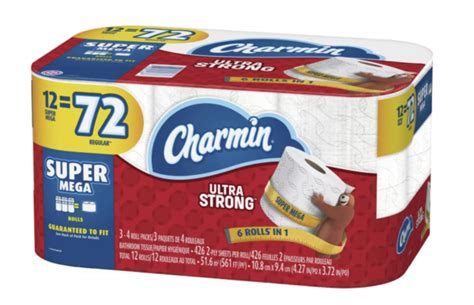 charmin ultra strong  count super mega rolls   target gift card  dfw mommy