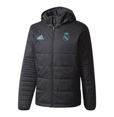 Parka Bola Real Madrid Army 2017 2018 real madrid adidas padded winter jacket black for only c 221 18 at
