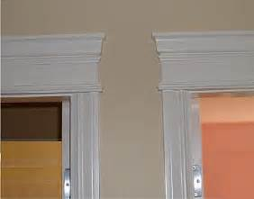 Faux Wainscoting Ideas - door header gallery i elite trimworks