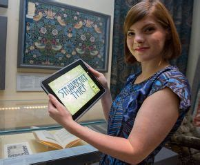 patternbank app strawberry thief ipad app victoria and albert museum