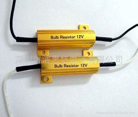 resistor for 12v bulb led bulb 50w 6r load resistor led re 50w 6rj greatland china manufacturer resistor
