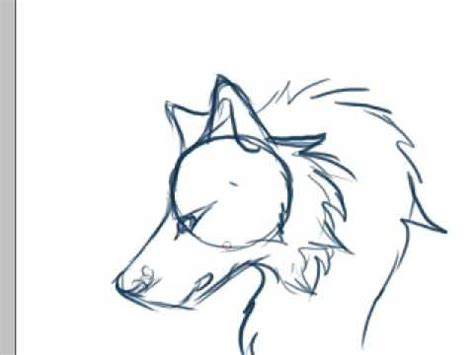 anime wolf drawings easy easy wolf drawings cliparts co