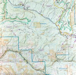 Colorado Plateau Map by Gallery For Gt Uncompahgre Plateau
