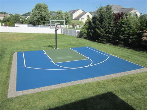 backyard basketball court dimensions basketporn top 13 backyard basketball courts basketporn