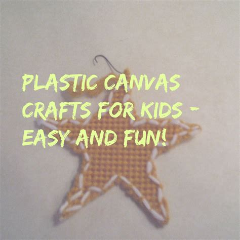 plastic canvas crafts for after 60