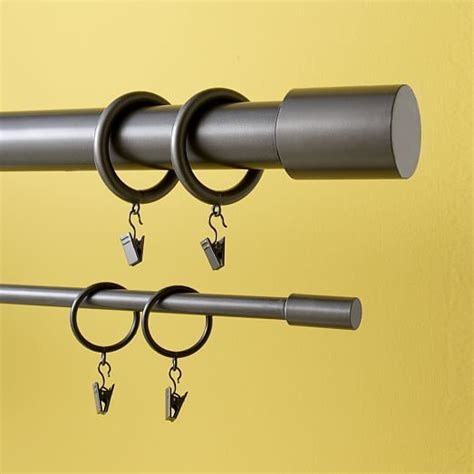 thin metal curtain rods 23 best curtain hardware images on pinterest curtain