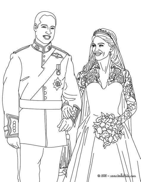 coloring page of princess diana prince william and kate middleton coloring pages