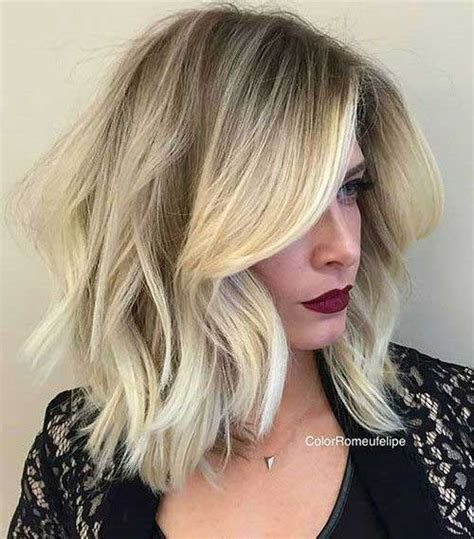 how to achieve the new haircut the lob best hairstyles with wavy hair hairstyles haircuts