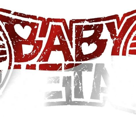 indonesia flag baby metal logo  shirts stickers