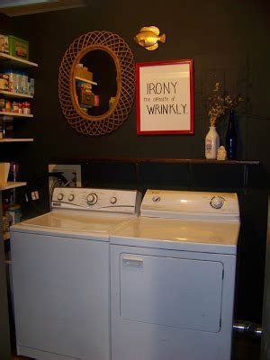 The Sunset Lane: Black Laundry Room/ Pantry Reveal