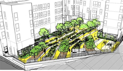 hill design concept bayview hill gardens landscape concept sketch
