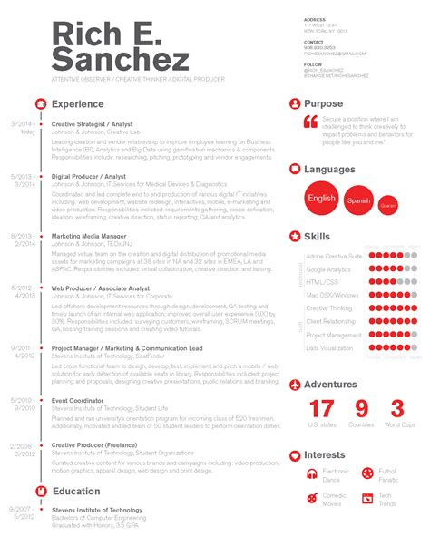 Resume Timeline by Simple Clean Infographic Timeline Resume Design For