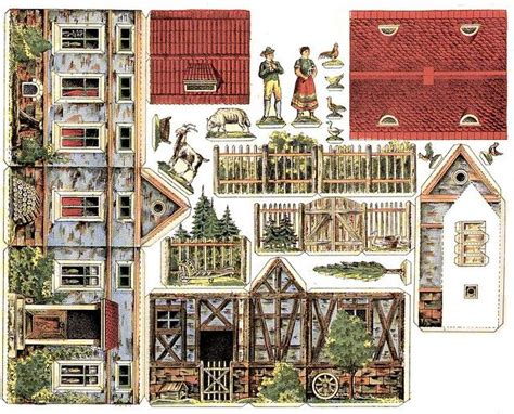 miniature homes models 101 best images about mini printables paper houses on