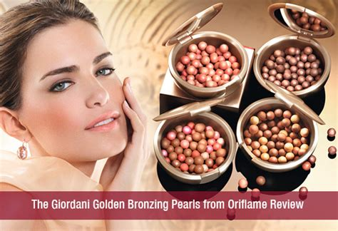 Harga Make Bronzer the giordani golden bronzing pearls from oriflame review
