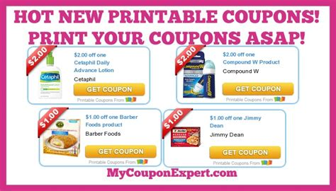 barber food printable coupons hot new printable coupons jimmy dean barber foods