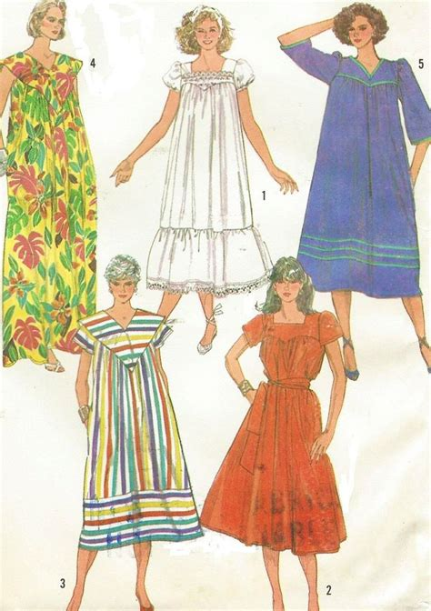 dress pattern ladies 80s simplicity sewing pattern 7493 womens easy to sew