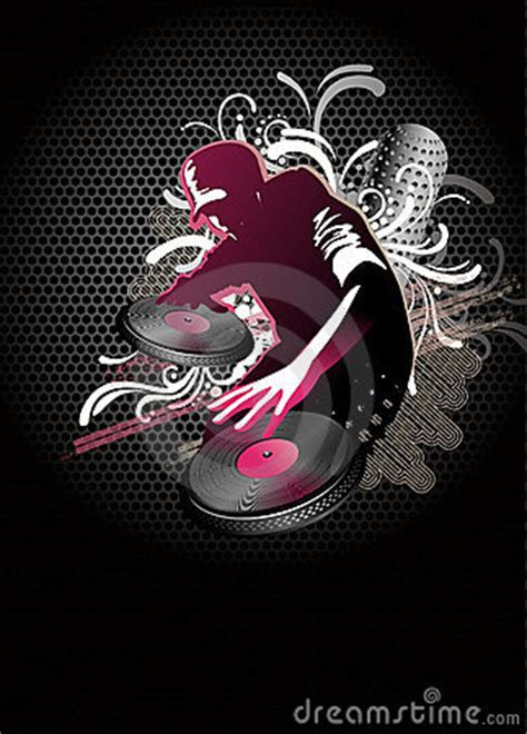 dj mix vector royalty  stock images image