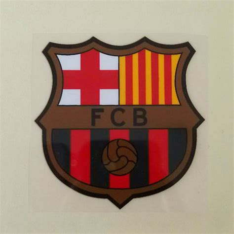Patch Barcelona fc barcelona soccer iron on patch badge 3d flock patch