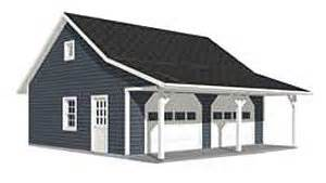 Garage Plans With Porch Garage Plans Roomy 2 Car Garage Plan With 6 Ft Front