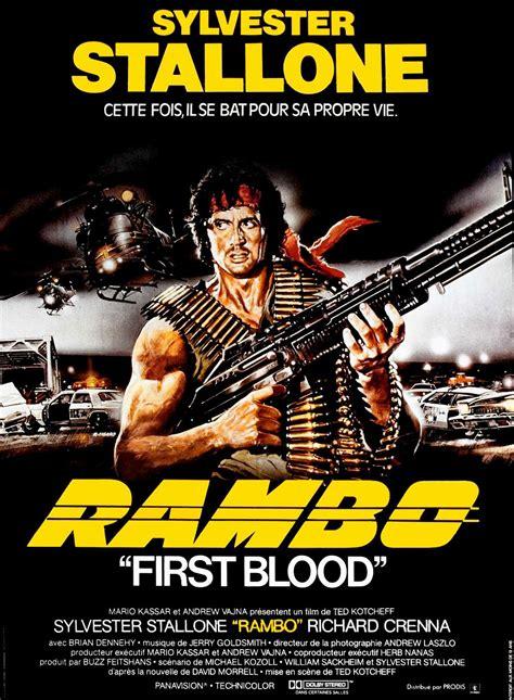 film rambo en vf rambo film 1982 senscritique