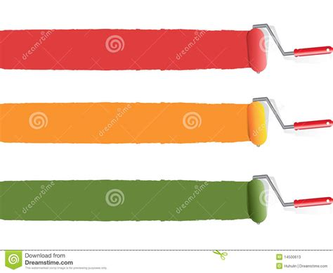 color paint roller stock photos image 14500613
