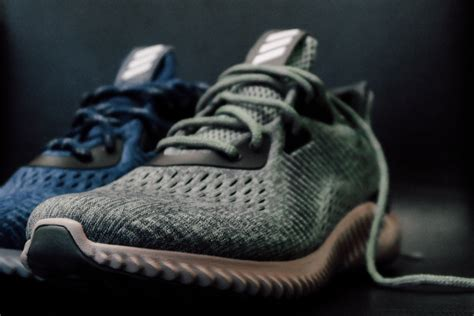 Adidas Alphabounce Green 1 adidas officially unveils the alphabounce with engineered mesh weartesters