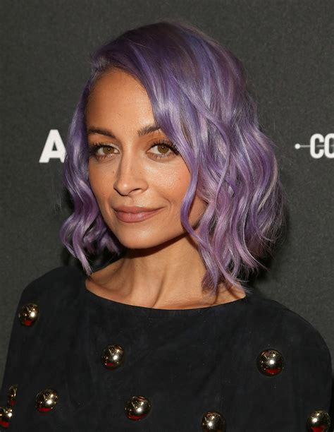 how to style a wob hairstyle nicole richie the wob wavy lob is the hot new