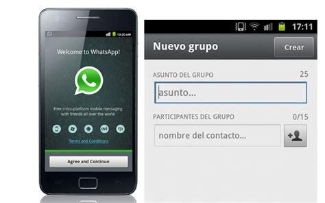 imagenes whatsapp para grupos 191 c 243 mo crear grupos de contactos en whatsapp
